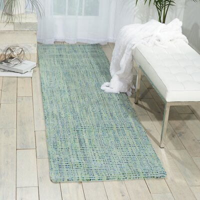 Spartacus Hand-Woven Oceanic Area Rug Rug Size: Rectangle 53 x 75