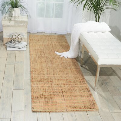 Spartacus Hand-Woven Wheat Area Rug Rug Size: Runner 23 x 8