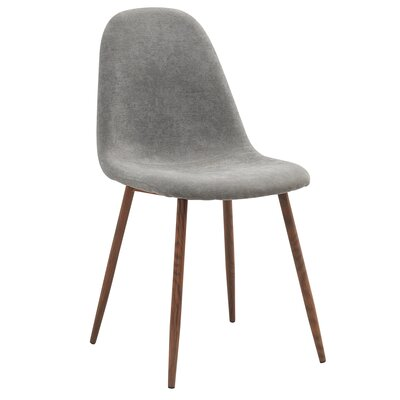 Folsom Side Chair Upholstery: Gray