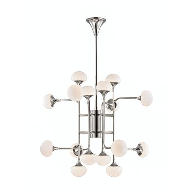 Alongi 16-Light Sputnik Chandelier Finish: Polished Nickel