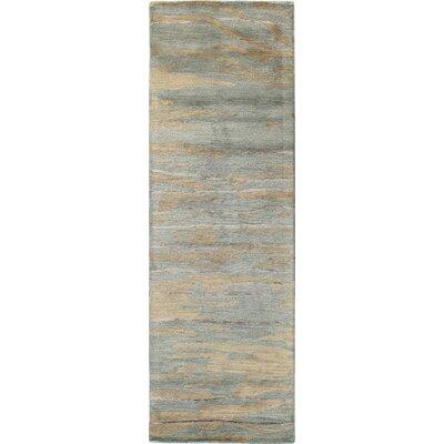 Arcada Wool Slate Area Rug Rug Size: Runner 26 x 8
