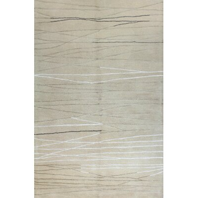 Suzette Hand-Tufted Ivory Area Rug Rug Size: 86 x 116