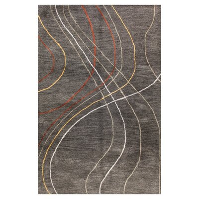 Christopher Hand-Tufted Grey Area Rug Rug Size: Runner 26 x 8