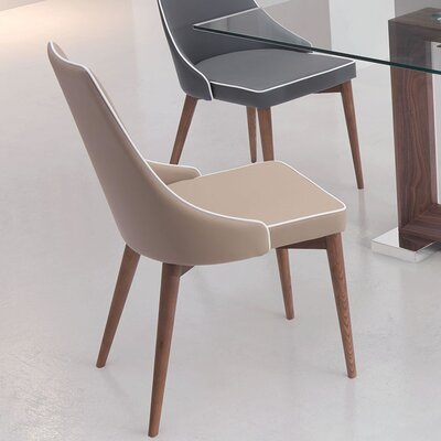 West Covina Parsons Chair Upholstery: Beige
