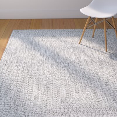 Kulpmont Gray Indoor/Outdoor Area Rug Rug Size: Rectangle 6 x 9