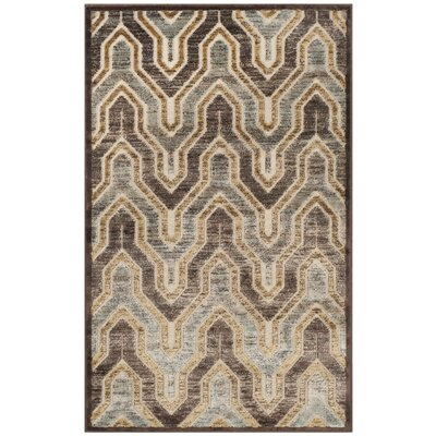 Addyson Beige/Brown Area Rug Rug Size: Rectangle 27 x 4