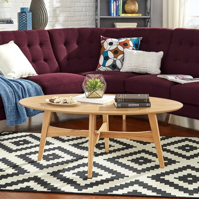 Payton Coffee Table Color: Light Oak