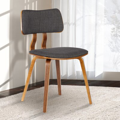 Amnicon Side Chair Upholstery: Charcoal