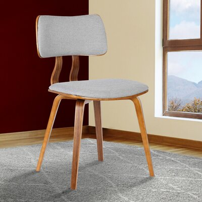 Amnicon Side Chair Upholstery: Gray