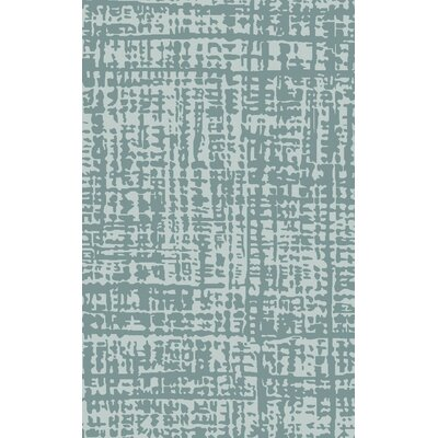 Timberlane Slate/Teal Rug Rug Size: Rectangle 36 x 56