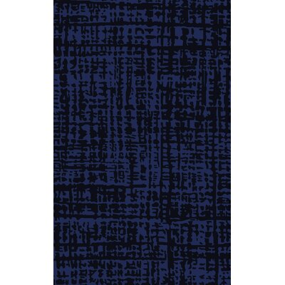 Timberlane Navy/Cobalt Area Rug Rug Size: Rectangle 5 x 8