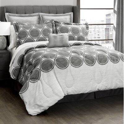 Croxley 6 Piece Comforter Set Size: King