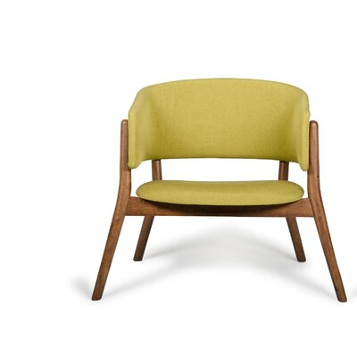 Ogden Barrel Chair Upholstery: Gold