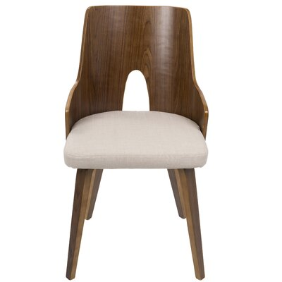 Tompson Side Chair Upholstery: Beige