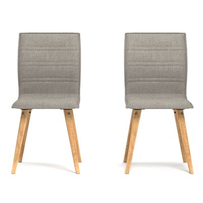 Melina Side Chair Upholstery: Dove Gray