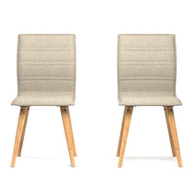 Melina Side Chair Upholstery: Barley Tan