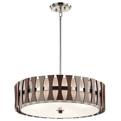 Fairlop 4-Light Drum Pendant