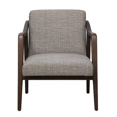 Jason Mid Century Wood Frame Armchair