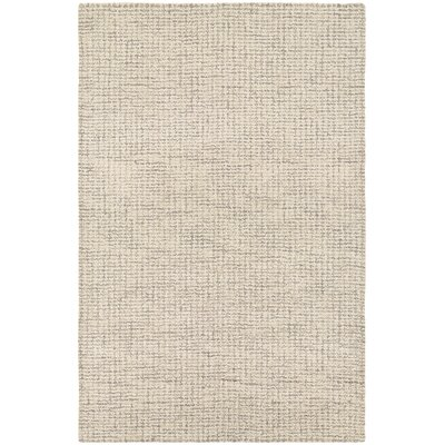 Dean Hand-Woven Light Brown Area Rug Rug Size: 8 x 11