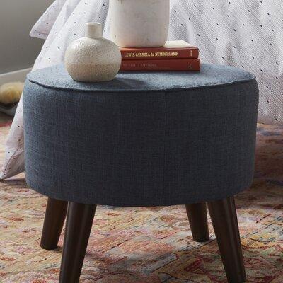 Hogan Ottoman Upholstery Color: Navy