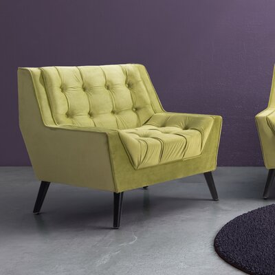 Ballure Arm Chair Color: Green