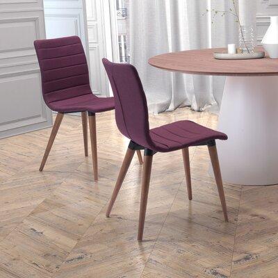 St. Paul Side Chair Upholstery: Purple