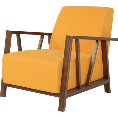 Abrams Armchair Upholstery Color: Sunset Gold
