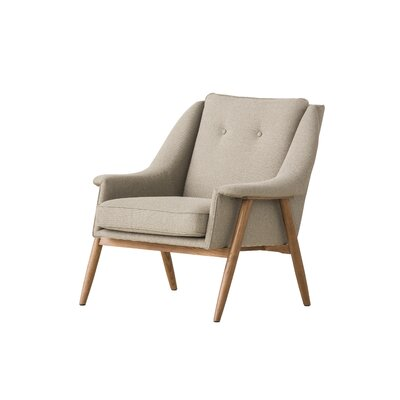 Riverside Arm Chair Upholstery: Sand Tweed