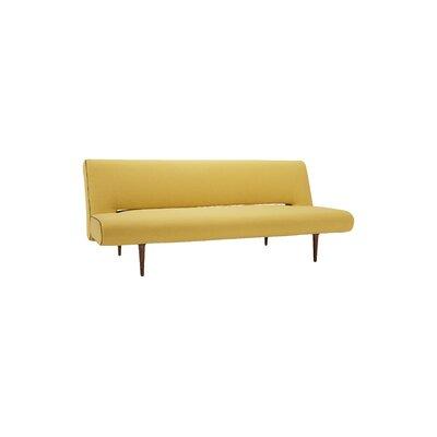 Derryclone Sleeper Sofa Upholstery: Soft mustard Flower