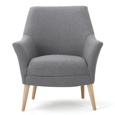 Balloo Arm Chair Upholstery: Gray