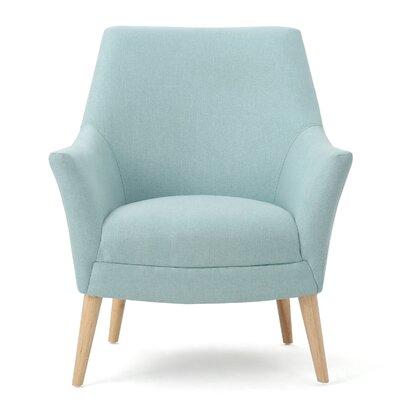 Balloo Arm Chair Upholstery: Light Blue