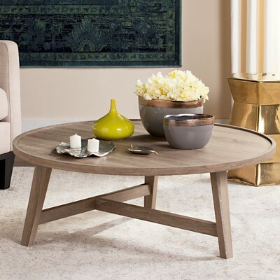 Baden Coffee Table Color: Light Gray