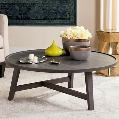 Baden Coffee Table Color: Dark Gray