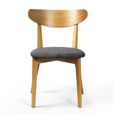 Garner Side Chair Finish: White Oak