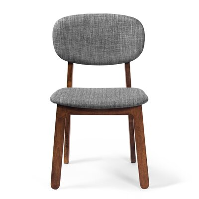 Alsmith Side Chair Finish: Walnut