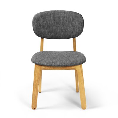 Alsmith Side Chair Finish: White Oak