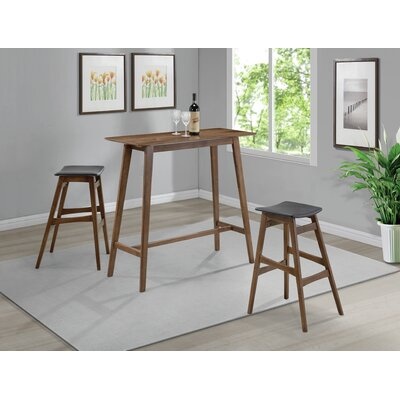 Abigail 3 Piece Pub Table Set