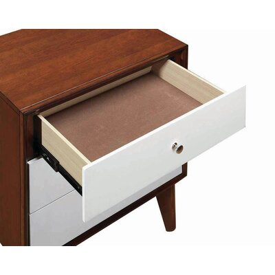 Katia 3 Drawer Nightstand