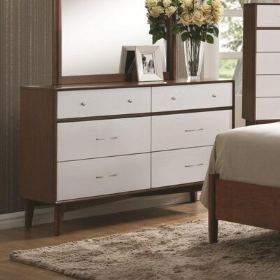 Katia 6 Drawer Dresser