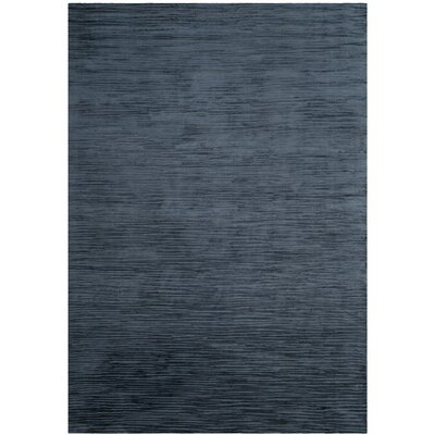 Oasis Hand-Woven Navy Area Rug Rug Size: Rectangle 8 x 10