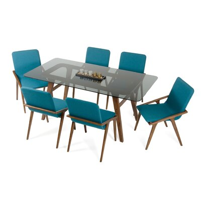 Mykonos 7 Piece Dining Set