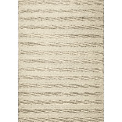 Sherwood Winter White Rug Rug Size: 33 x 53