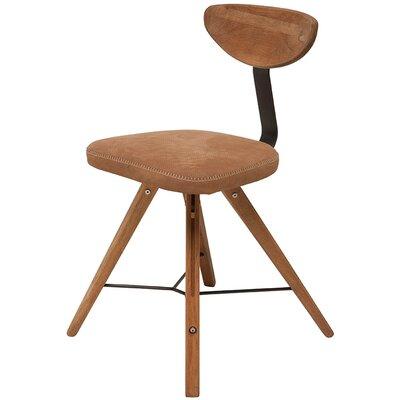 Nashua Side Chair Finish: Fumed Oak / Brown Tan
