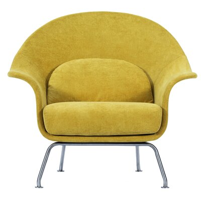 Smith Lounge Chair Upholstery: Citrus Garden