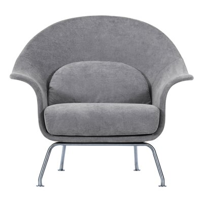 Smith Lounge Chair Upholstery: Moonbeam