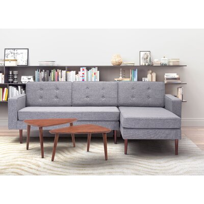 Eloise Reversible Chaise Sectional