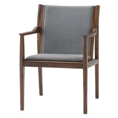 Willis Armchair Upholstery: Gray
