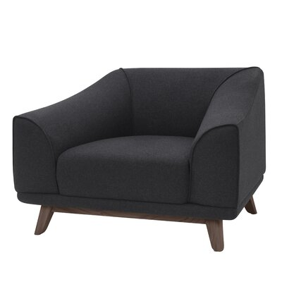 Vaughn Armchair Upholstery: Steel Gray