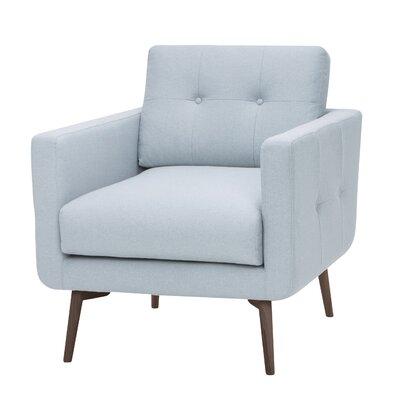 Priest Armchair Upholstery: Caribbean Blue
