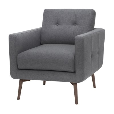 Gardner Arm Chair Upholstery: Shale Gray